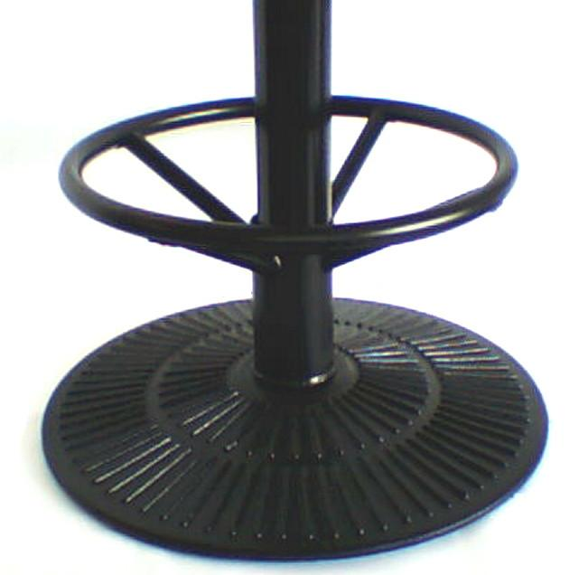 Round Decorative Table Base with foot ring