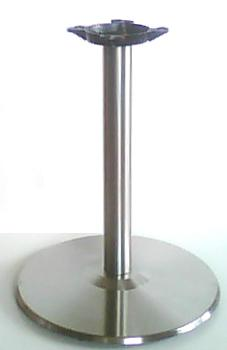 Stainless Steel Table Base Round
